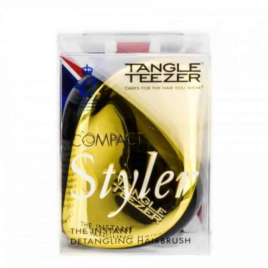 tangle_teezer_compact_style_gold_in_box_beautymailbox.co.uk