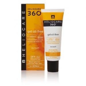 Heliocare 360º SPF 50 Oil Free Gel + Sun Protection With Fernblock 50ml