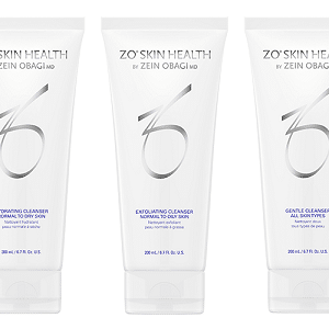 Zo Skin Health Cleansers, Exfoliators and Toners