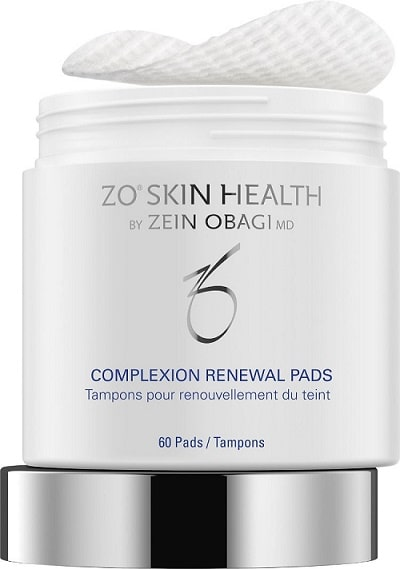 zo complexion renewal pads
