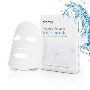 Croma Hyaluronic Single Sachet Face Mask Sheet